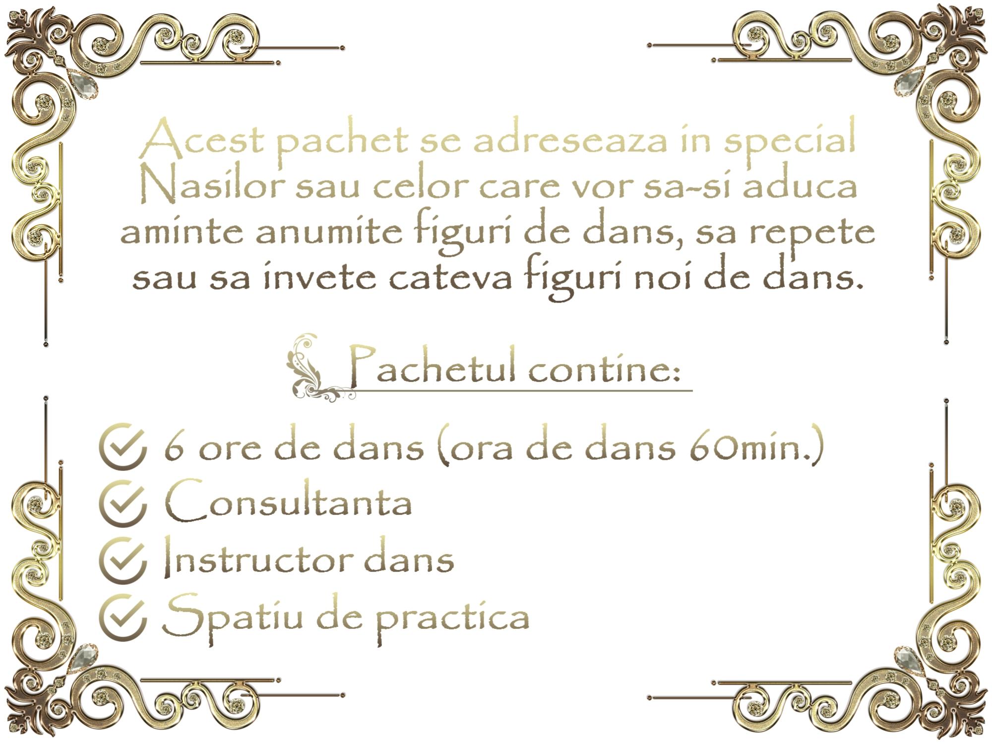 alpha dance pachet nasi